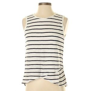 Athleta Striped Tank Top Size L